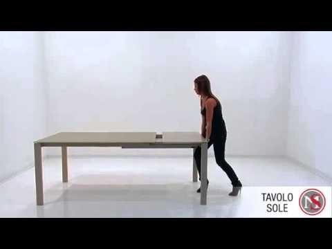 Mobili sparago ~ Tavolo sole di target point presso lo showroom di mobili sparaco