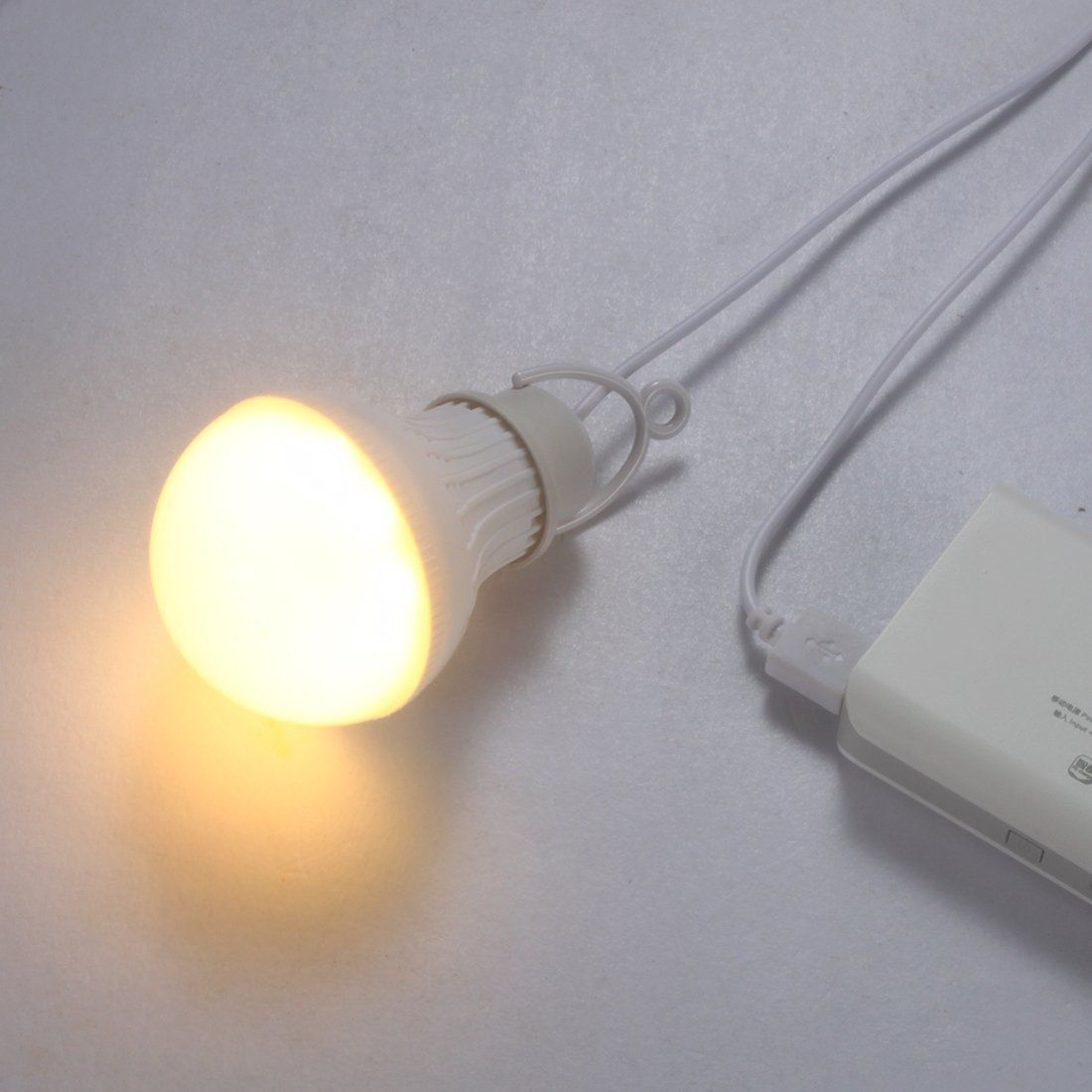 Linght 7w Usb Powered Led Bulb Night Light With Dimmable Switch