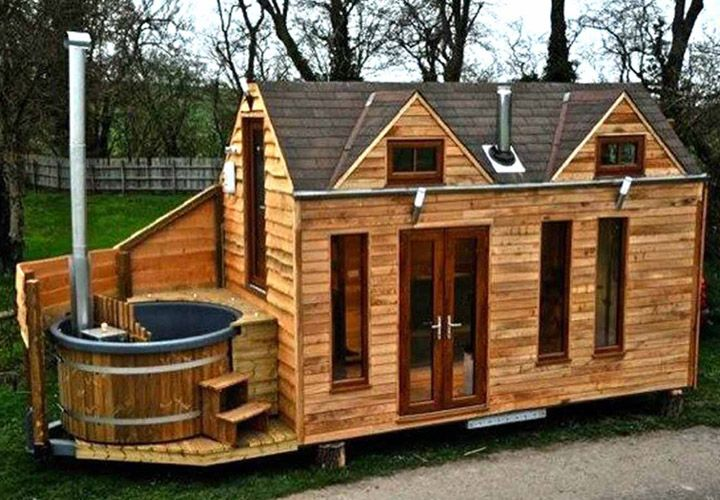 2 bedroom log cabin mobile homes | mobile homes ideas | small