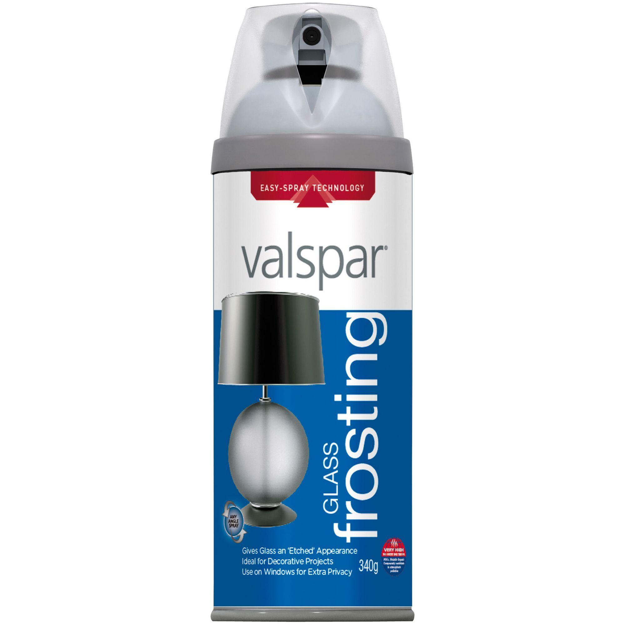 Valspar Glass Frosting Spray Paint 400ml Departments Diy At