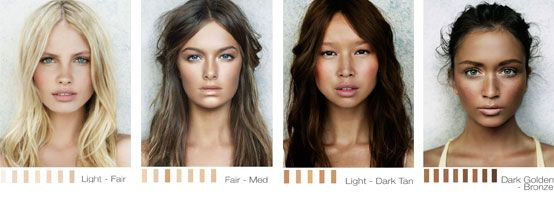 Understanding Becca Skin Tone Categories And Colours Becca Cosmetics Hair Color Cool Hair Color Hair Color For Fair Skin