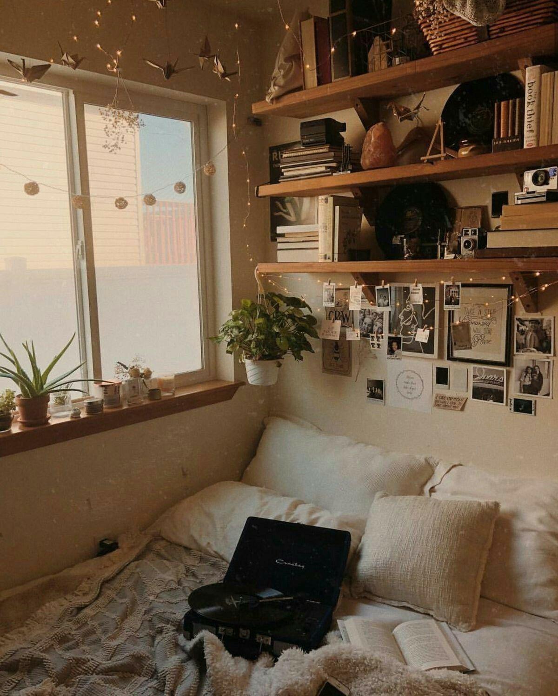 Bedroom Bookshelves Room And House Decor Room Decor Aesthetic