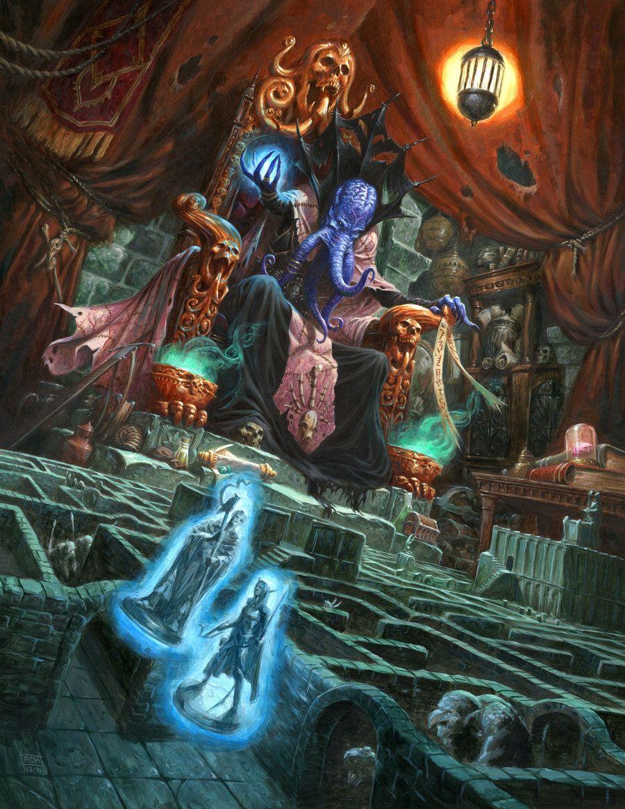 The+Dungeon+Master+by+RalphHorsley.deviantart.com+on+@deviantART