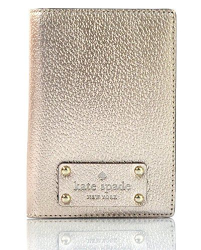 d60fb853fdad Kate Spade Wellesley Passport Case Holder Rosegold >>> Check out ...