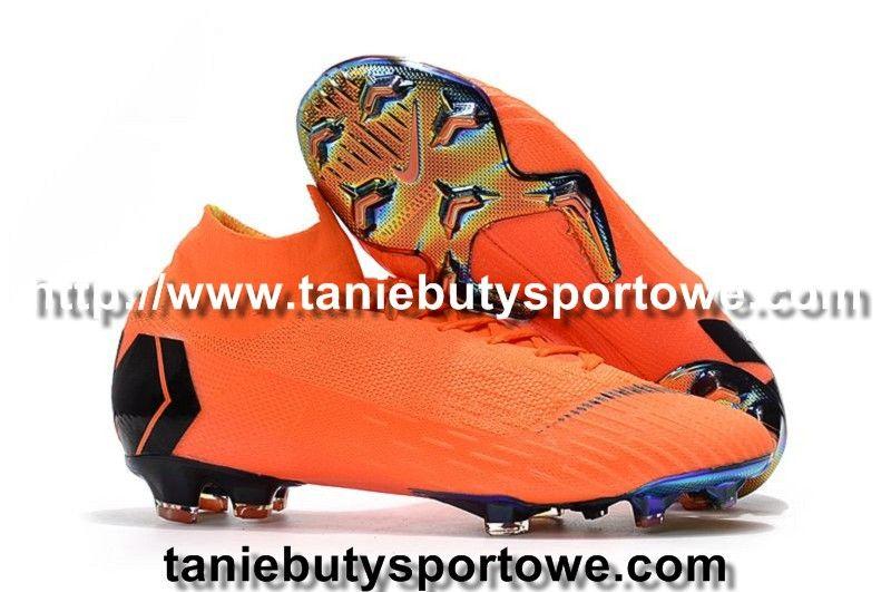 Nowa Dzieciece Buty Pilkarskie Nike Mercurial Superfly Vi 360 Elite Fg Pomaranczowy Czarny Pomaranczowy Visit Us Http Www Taniebutysportowe Com Dzieciecen