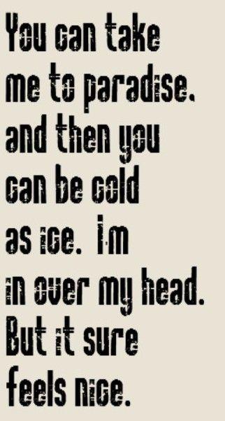over my head lyrics meaning fleetwood mac