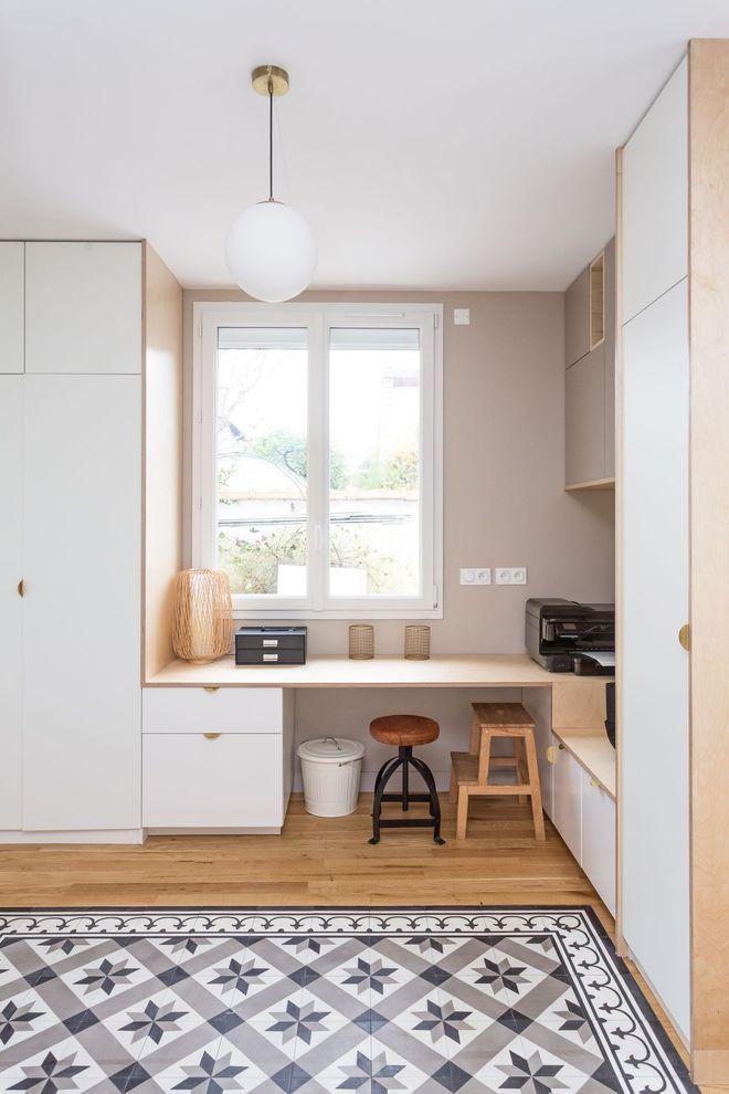 Maison Saint Maur des fossés  aménager les combles Tiny office