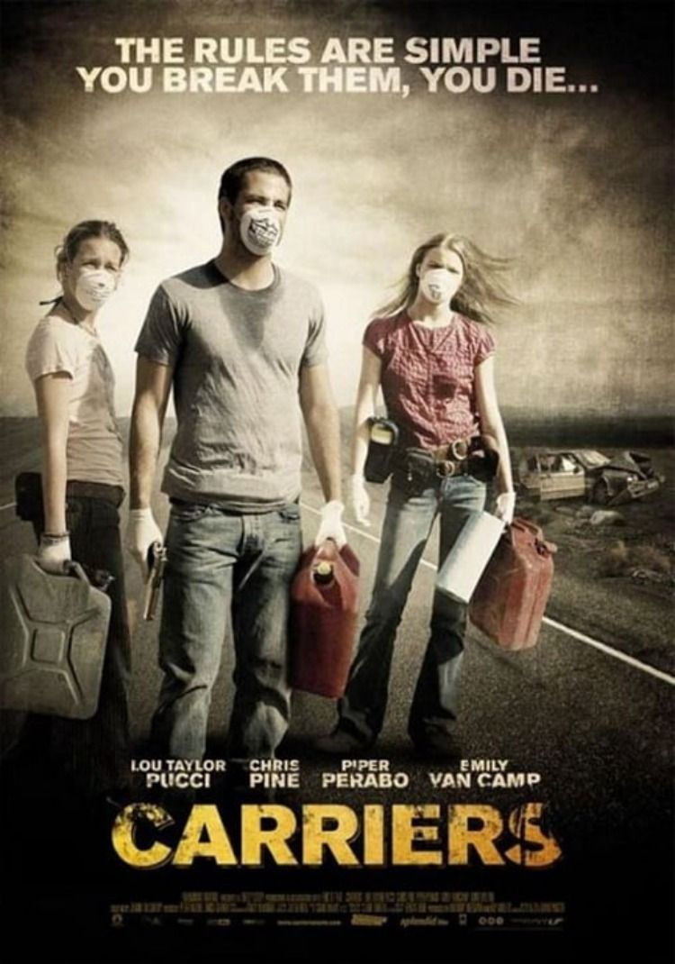 Carrier 2009 Movie Trailer Https Www Dailymotion Com Video X7sxekd Starring Lou Taylor Pucci Chris Pine Pip In 2020 Chris Pine Movie Trailers Piper Perabo