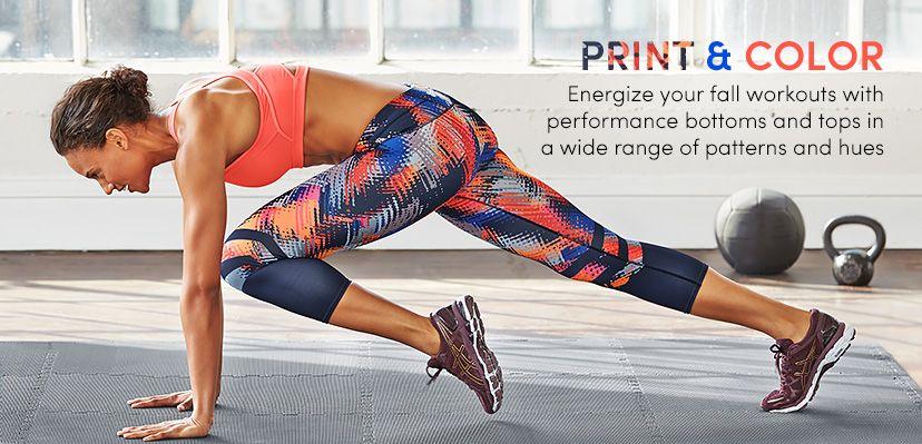 What's New Print + Color Athleta Athleta, Workout, Slim