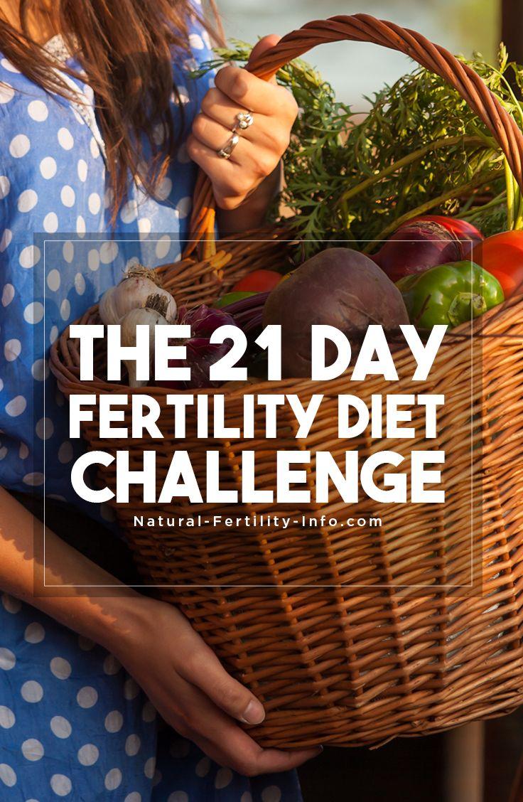 the 21 Day Fertility Diet Challenge