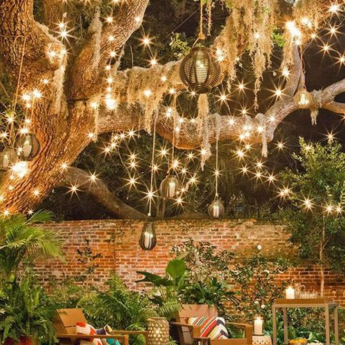 Where To Hang Your Fairy Lights Backyard Ideas Patio