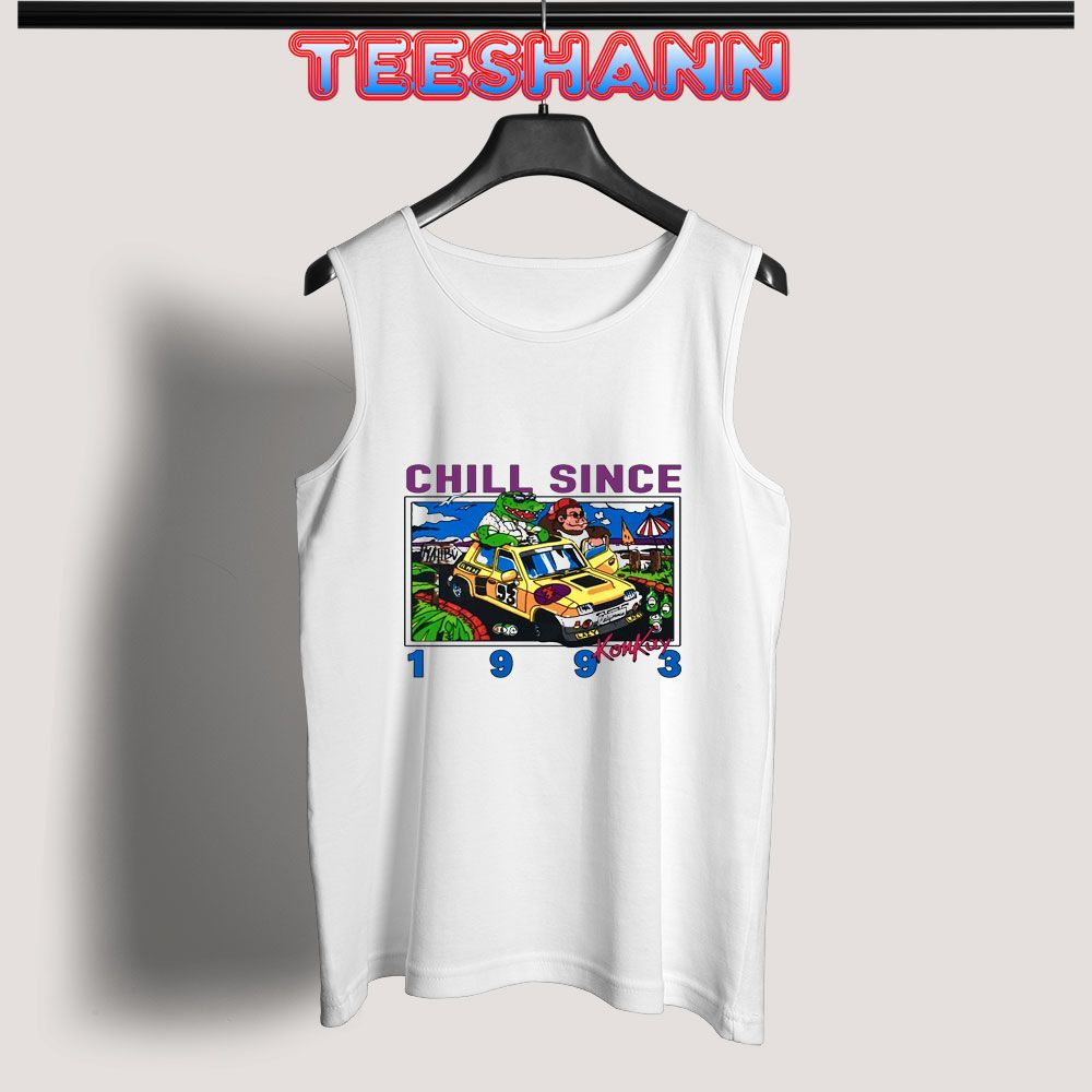 Tank Top Chill Since 1993. make Tank Top by Tees Teeshann #knittedtanktop