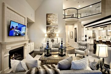 love the open concept - not the style