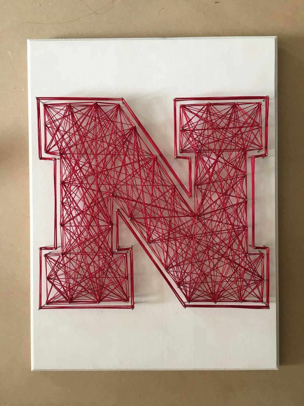 Letter string art!
