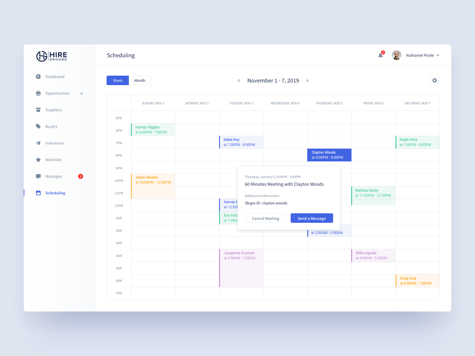 Hire Ground Scheduling by Flair Digital