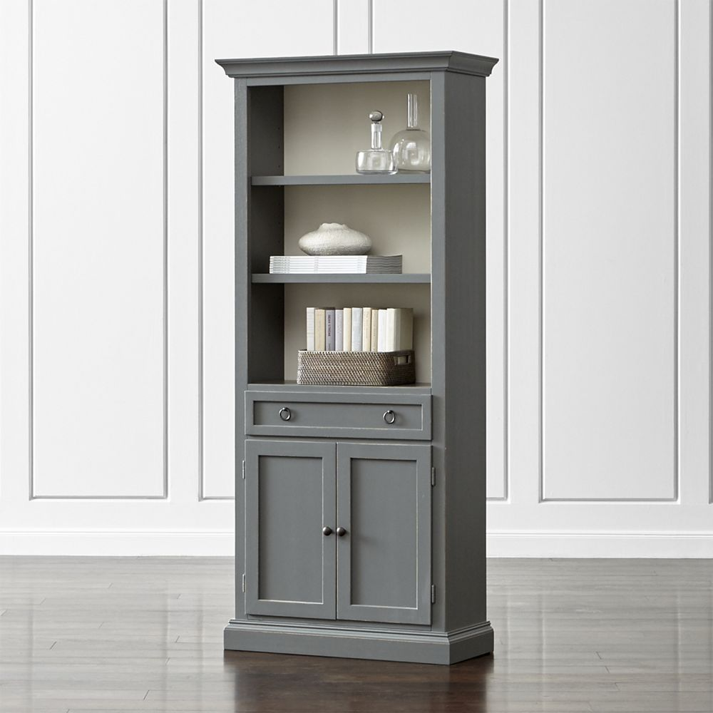 Cameo Grey Storage Bookcase | Storage ideas, Grey and Products
