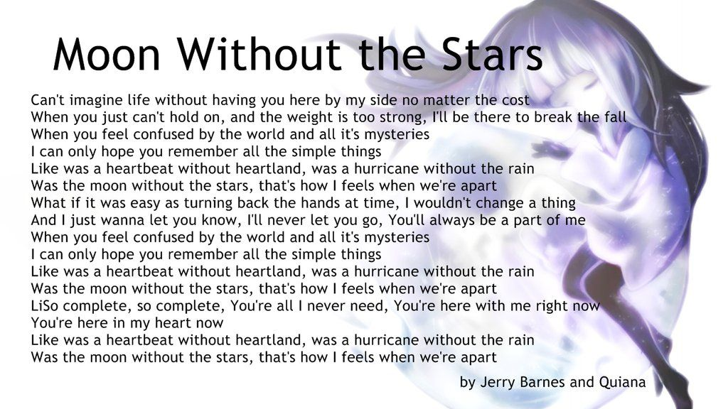 Lyric song lyric search engine : DEEMO LYRICS] Moon Without the Stars by christopherandy | Rayark ...