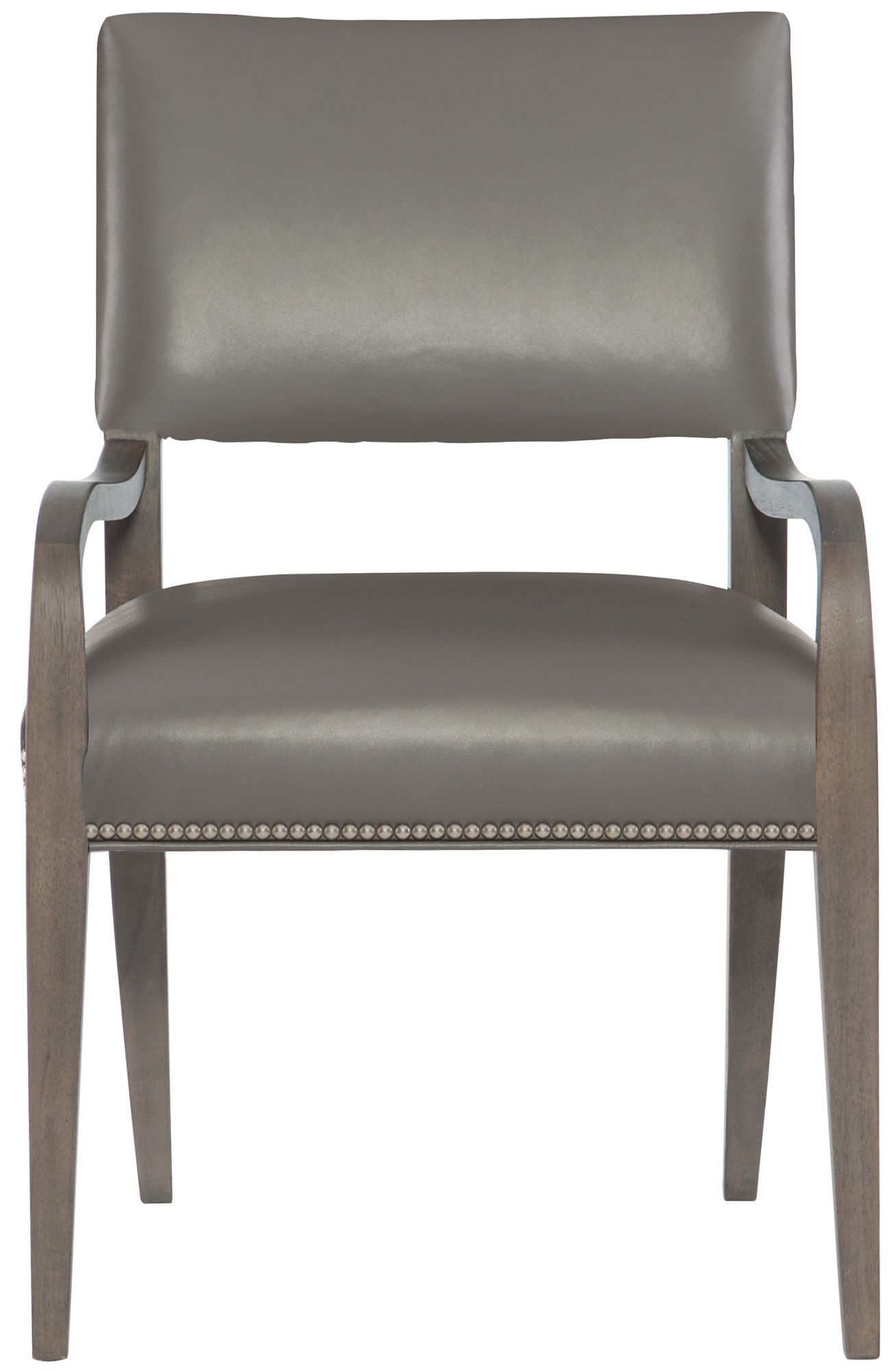 Bernhardt Interiors Moore Leather Dining Chair In 2020 Leather Armchair Leather Dining Chairs Dining Chairs