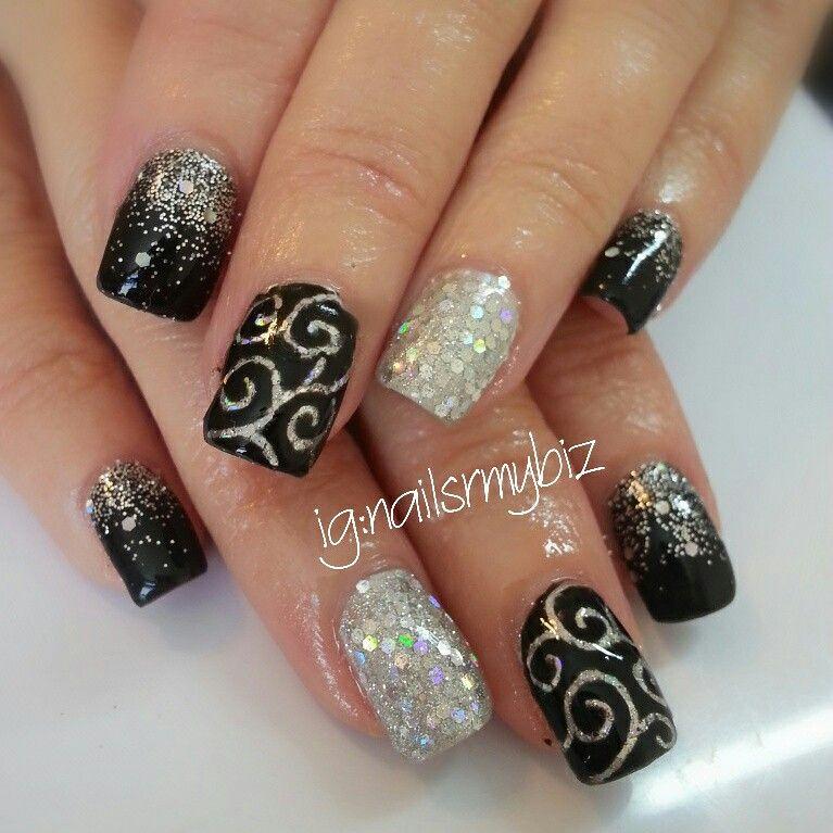 Classy and elegant shellac gel nail design | My nail art ...