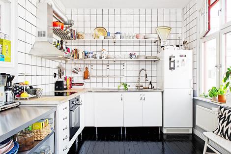 Fantastisch Woonblog Metrotegels Keuken Scandinavisch 01 Appartement Interieur,  Appartement Keuken, Appartementontwerp