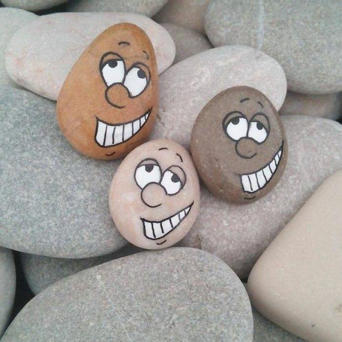 Paint Stones 101 Ideen für eine schöne DIYDekoration  Steine