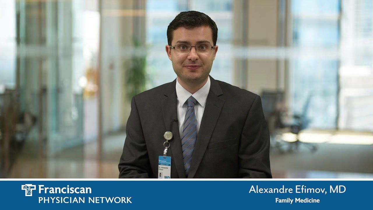 Dr alexandre efimov is a family medicine doctor with