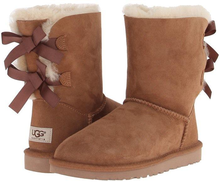 89aab38cc0d UGG Bailey Bow Chestnut | UGG Australia | Ugg boots australia, Bow ...