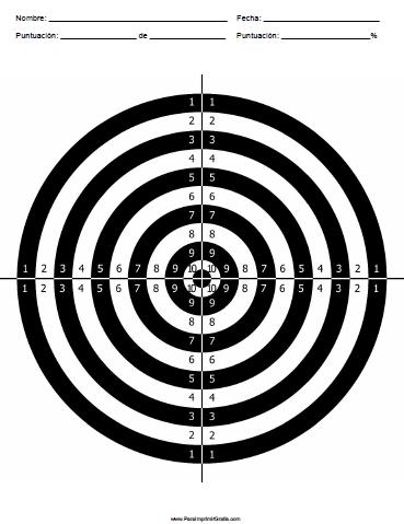 Diana para Imprimir | Shooting Target | Pinterest | Diana, Bench ...