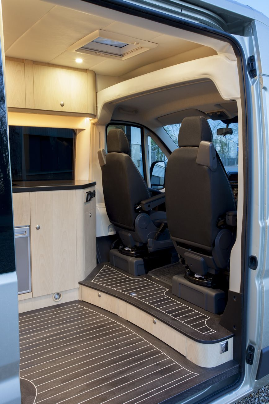 Interieur Camper Bus Innova Automotive Campers En Yachting Oplevering Fiat Ducato