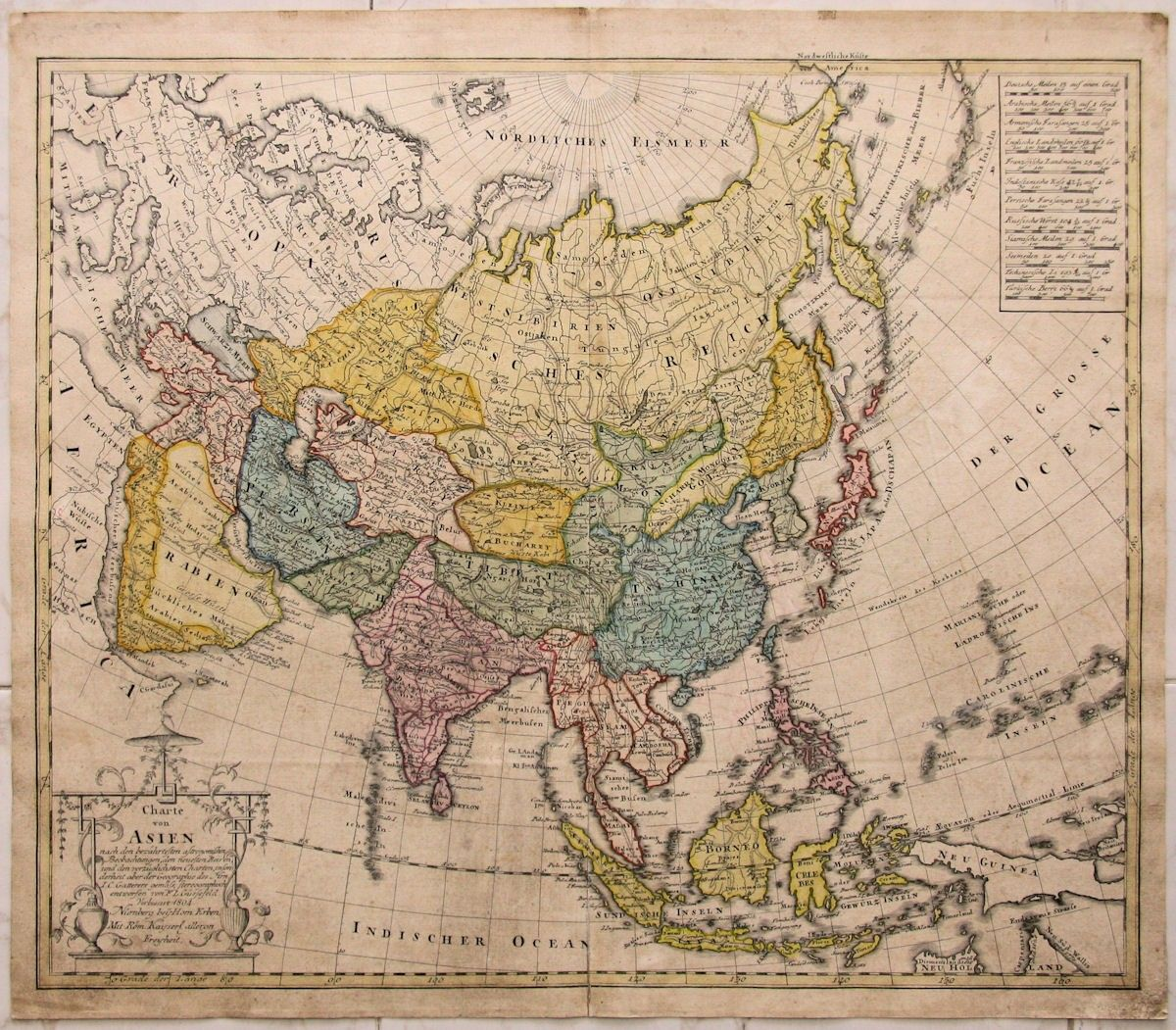 Asia china japan korea india old map homan heirs 1804 asia china japan korea india old map homan heirs 1804 gumiabroncs Image collections