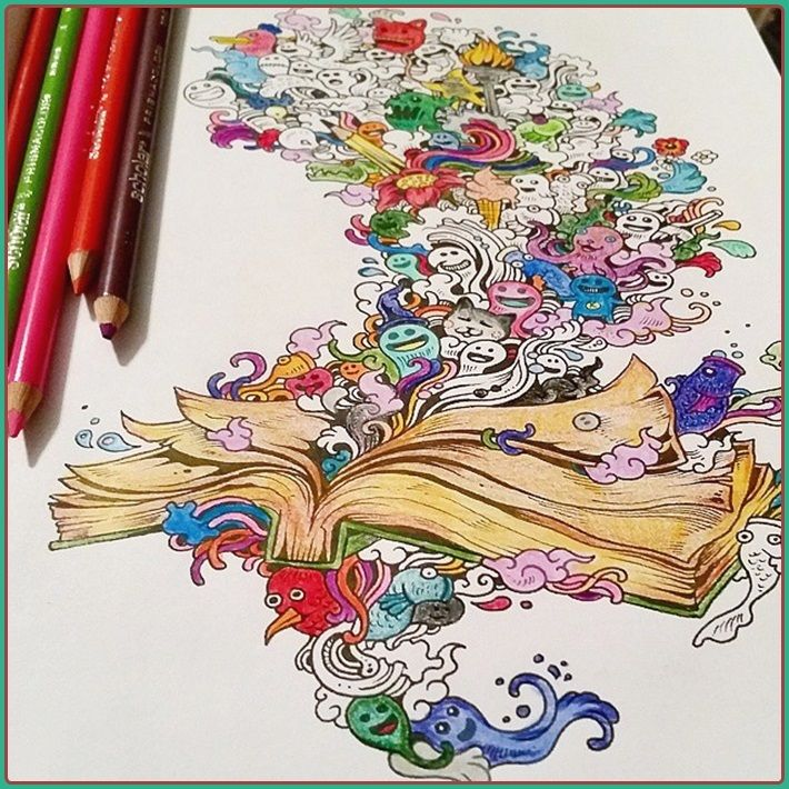 adult coloring books - Best Coloring Books For Adults