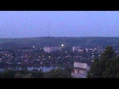 #Славянск перестрелка на телевышке гора Карачун 19.05.14 в 4-15 утра