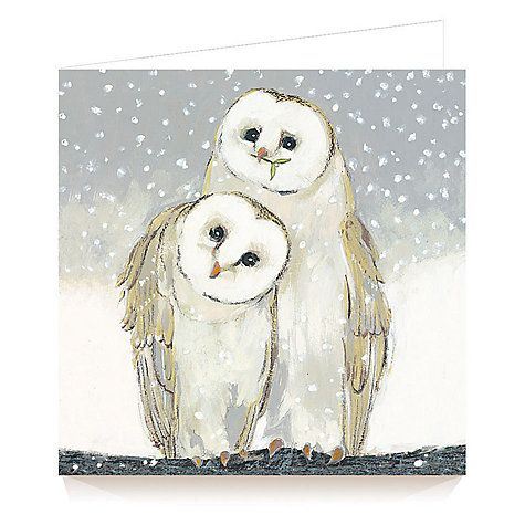 Buy Art Marketing Twit Twoo Charity Christmas Cards Pack