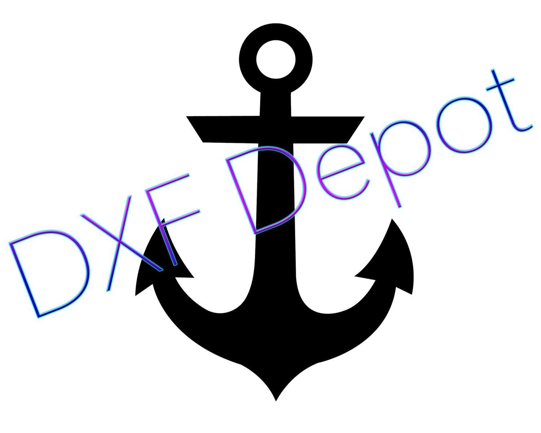 anchor dxf format cnc cut file vector art clip art dxf rh pinterest ca dxf clip art software dxf clipart files us states