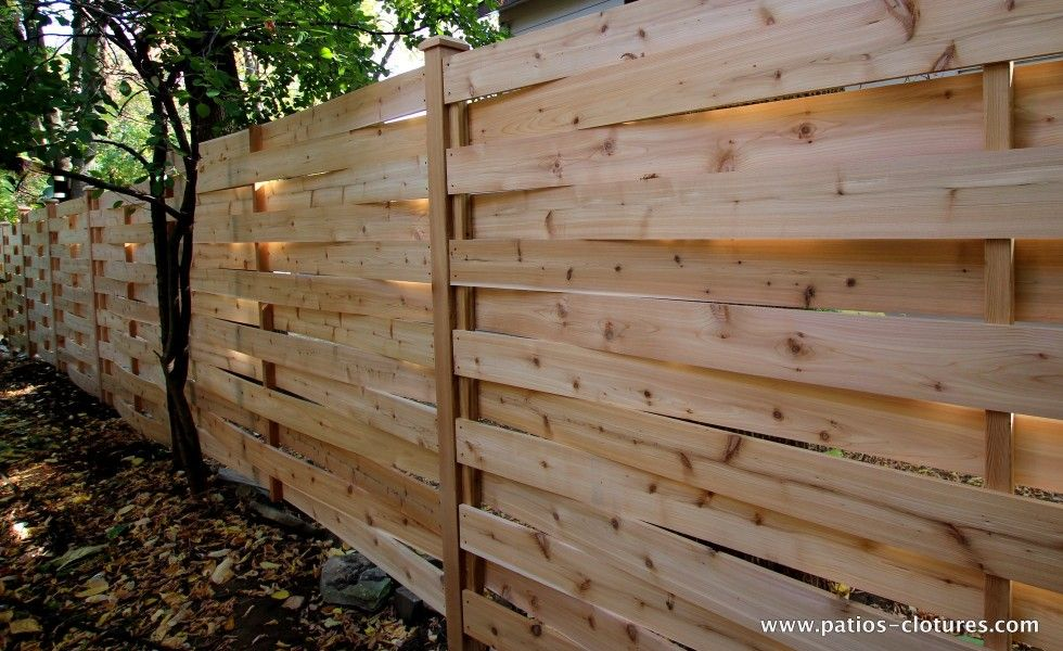A Fence With Texture The Basket Weave Style