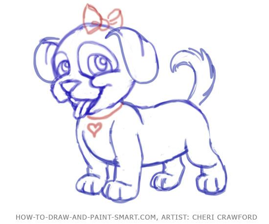 how to draw a puppy face step 8 doodles pinterest