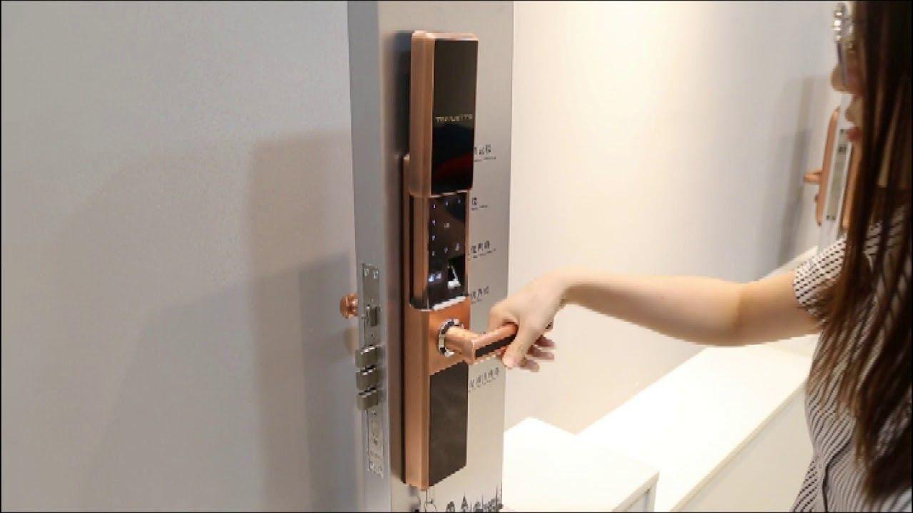 Cc Sl198r Anti Theft Door Lock Smart Fingerprint Door Locks For