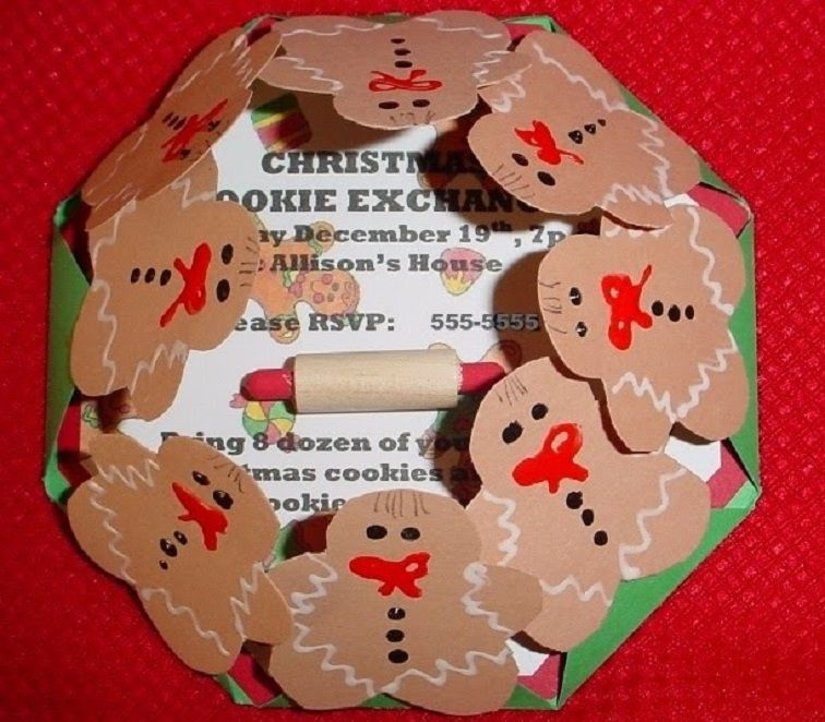 Homemade Christmas Party Invitation Ideas Party Invitation Card In