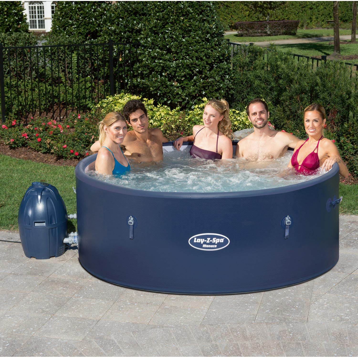 Spa Gonflable Bestway Monaco Rond Spa Gonflable Spa Et Gonflable