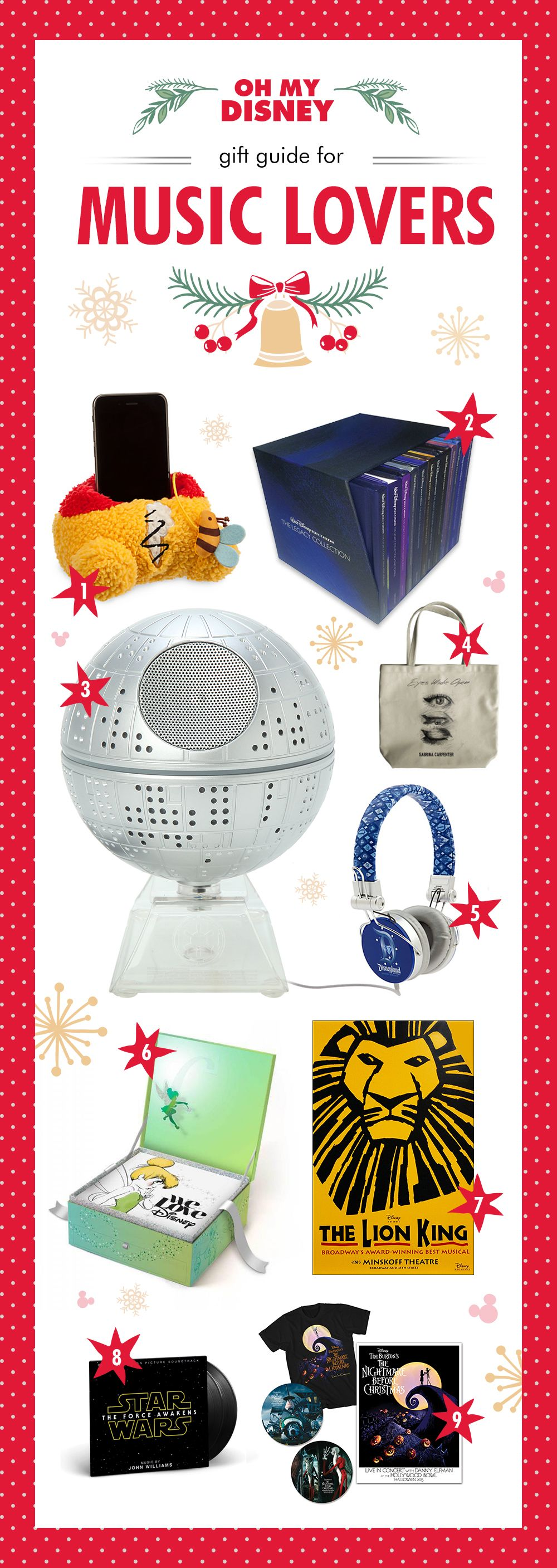 The Ultimate Disney Gift Guide for Music Lovers | Oh My Disney | Music
