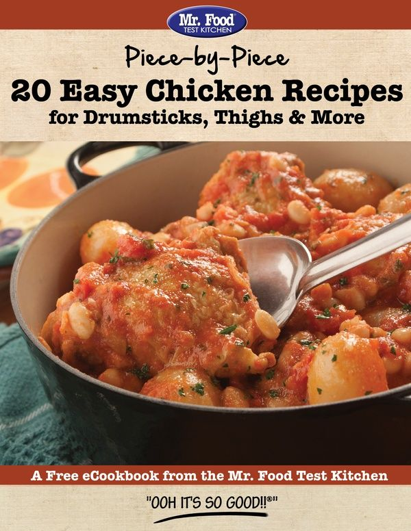 Piece By Piece 20 Easy Chicken Recipes For Drumsticks Thighs More