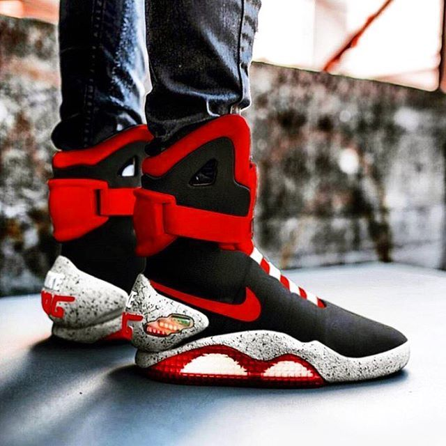 on sale 01065 d9f70 DOPE ✅ or NOPE ❎ Comment your shoe size! SneakerTeaser  Nike Air Mag in  2019  Nike shoes, Sneakers nike, Nike shoes outlet