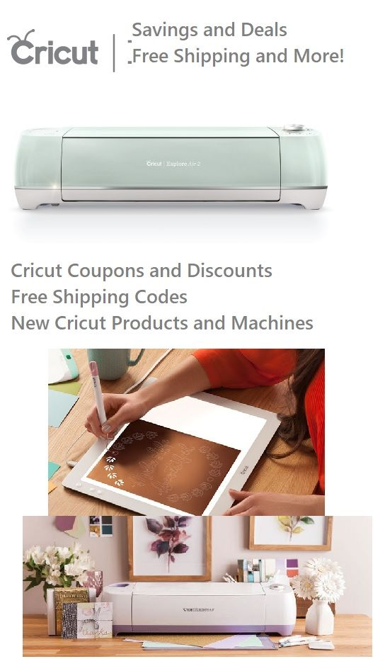 discount coupon for cricut machine