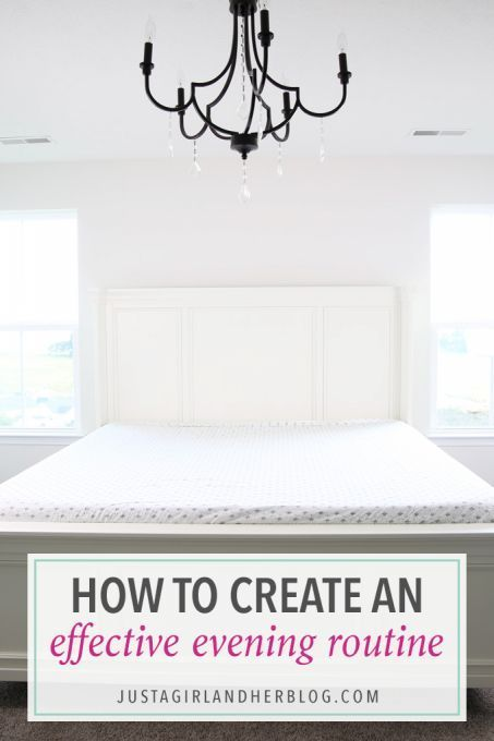 My Evening Routine: An Organized Way to End the Day | Time ...