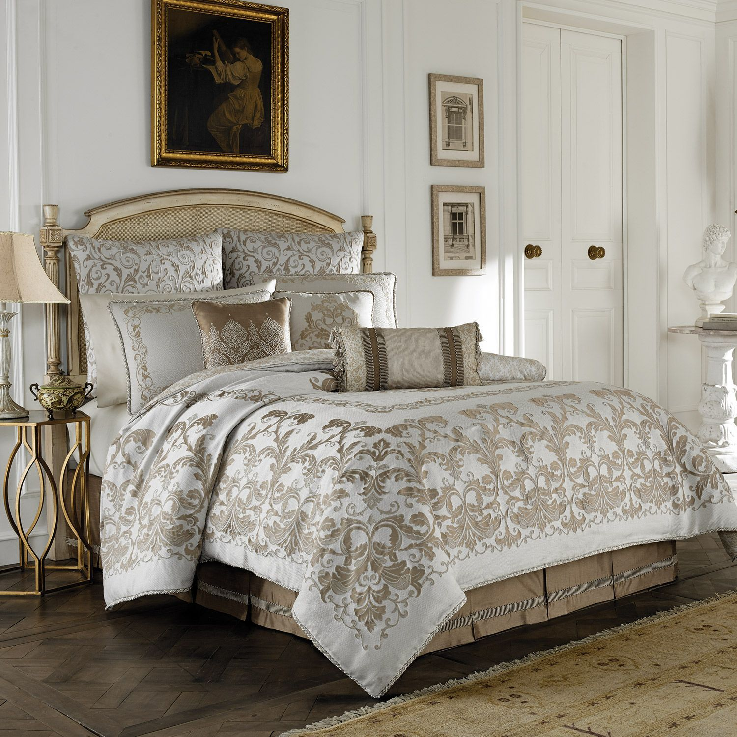 set ivory piece comforter jervis king