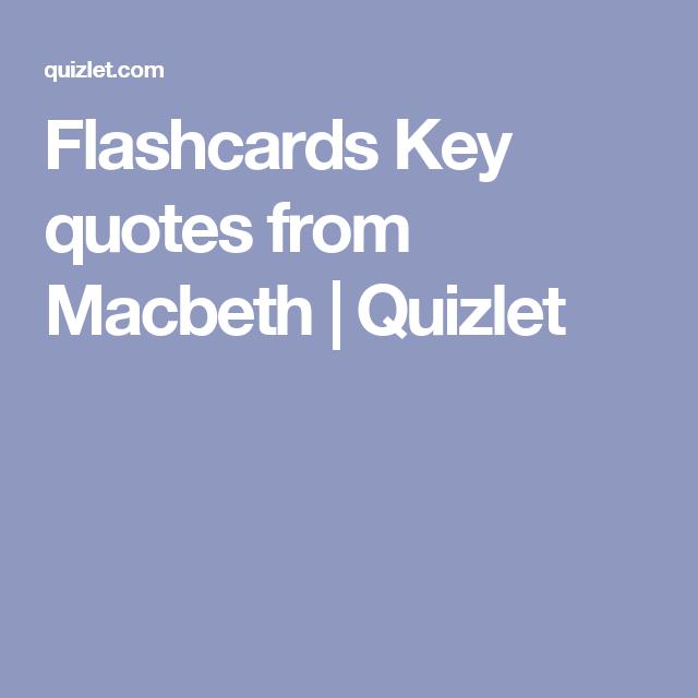 Macbeth: Play Summary | CliffsNotes