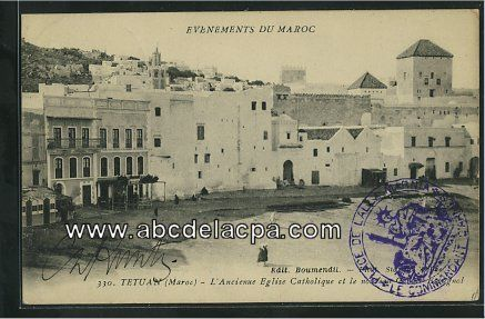 maroc_tetuan27544 - L'ancienne église catholique et le nouveau cercle espagnol  (437×287)