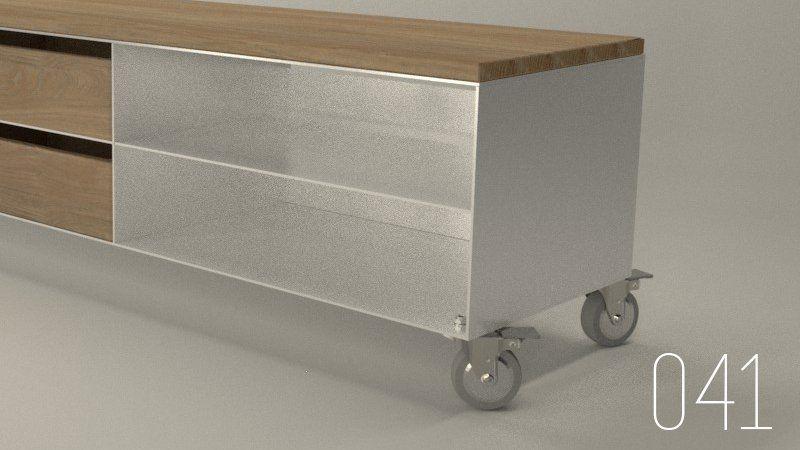 tv-sideboard-lowboard-weiss-weiss-eiche-design-auf-rollen-metall