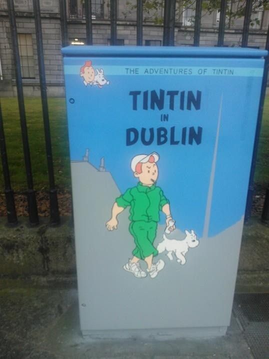 Tintin of Dublin via Broadsheet.ie