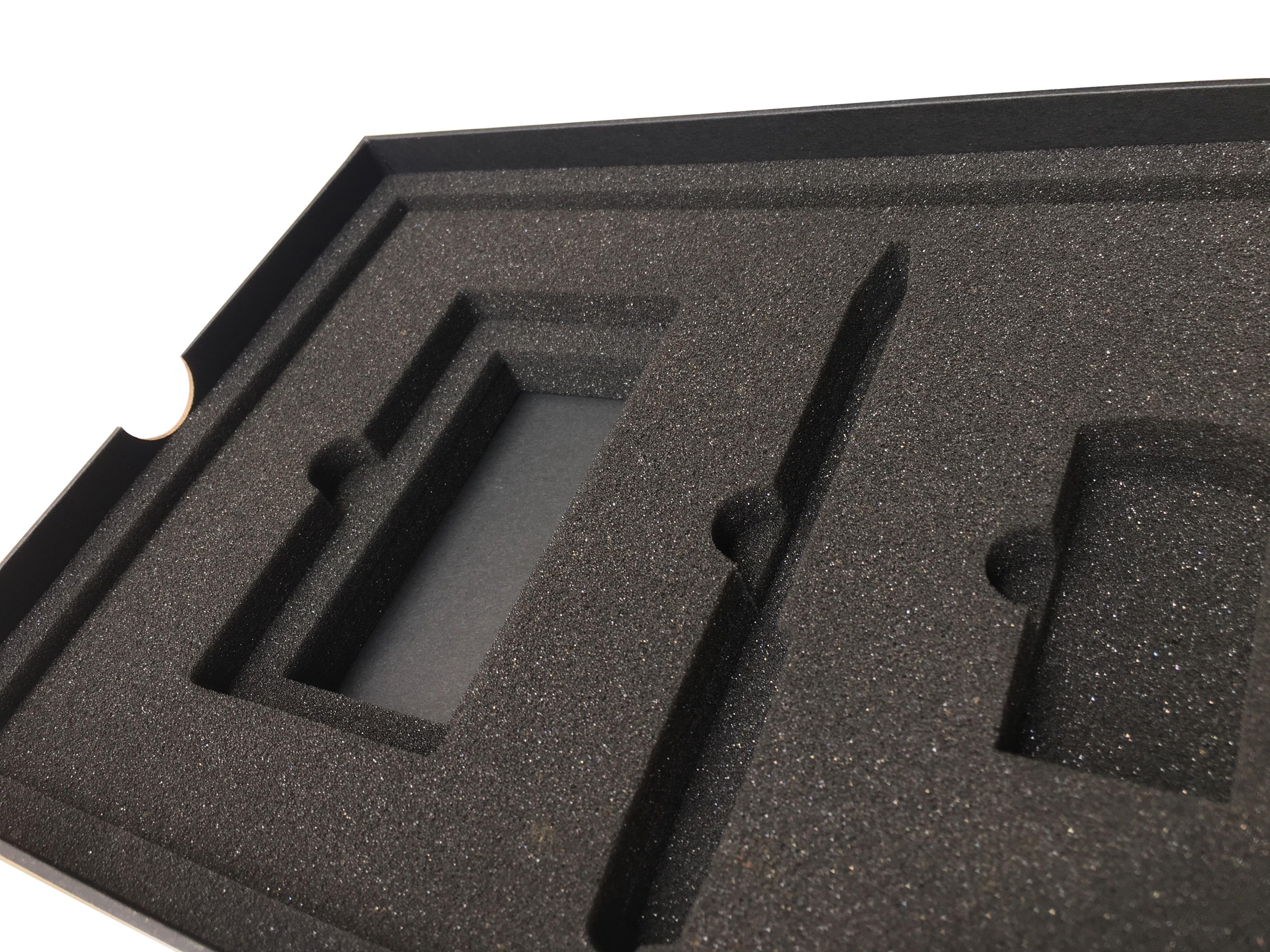 Foam Box Inserts For Metering Device In 2020 Foam Packaging Foam Custom Packaging